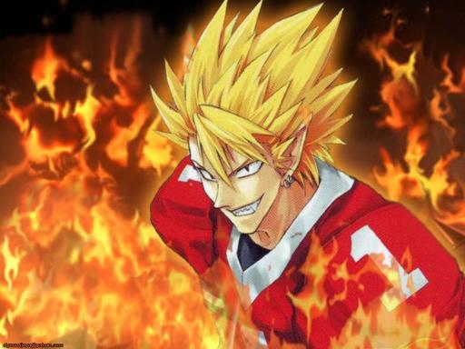 À quel personnage de manga ressemblez-vous? Hiruma1